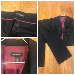 Plus Size Lane Bryant Ladies Suit